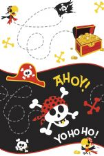 Pirate Fun Plastic Tablecover